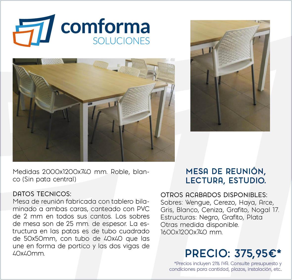 Mesa de Reunión - Especializados en Mobiliario de Oficina, Contract ...